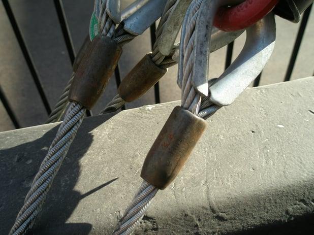 Las Vegas Freemont Area Zipline 8 wire rope